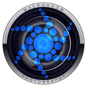 Macrokosm wildlife photography logo